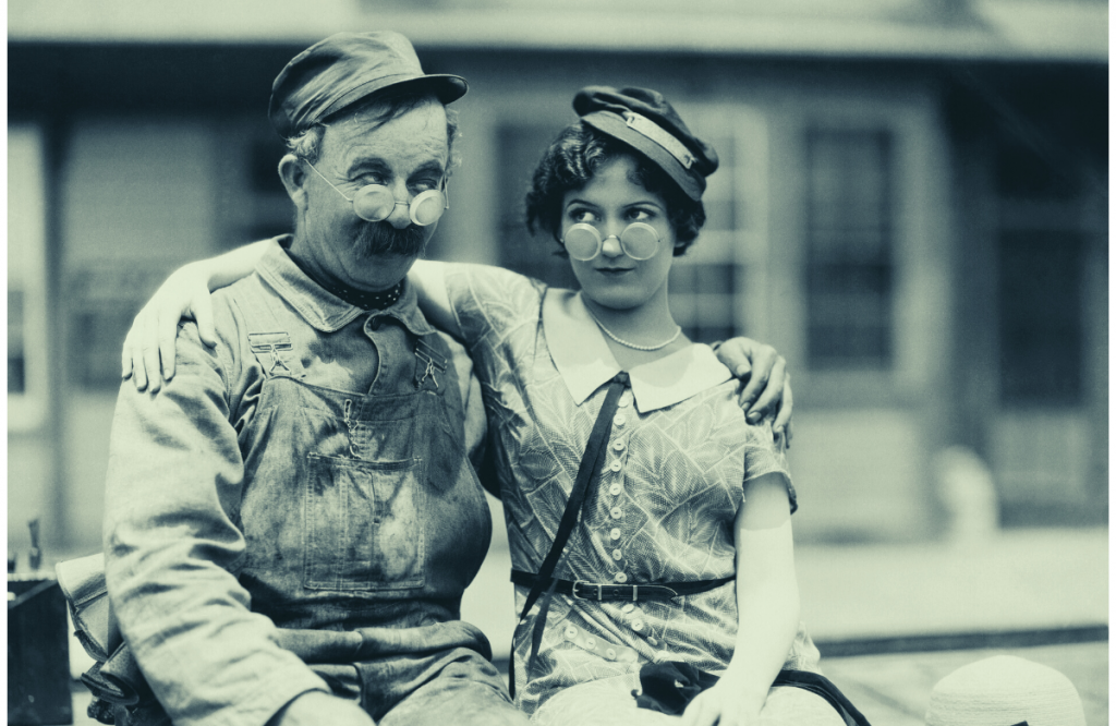 Couple from the first world war dating