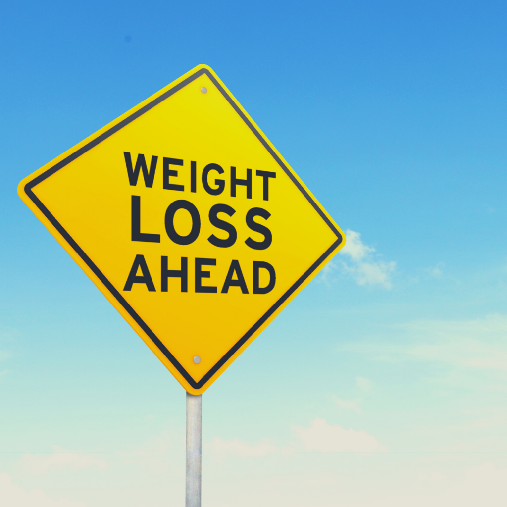 Weight Loss Hazard Sign